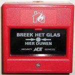 handbrandmelder brandmeld- en alarmeringsvoorzieningen